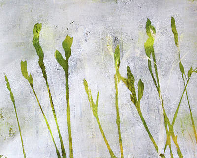 Painting - Wild Grass Series 1 by Nancy Merkle