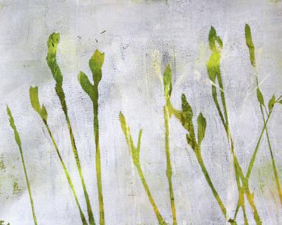 Painting - Wild Grass Series 1 by Nancy Merkle