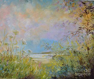 Painting - Wild Grasses Of Saugatuck by Alla Dickson