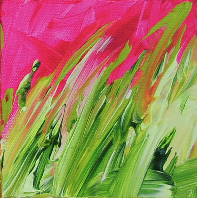 Painting - Wild Grasses by Paulette B Wright
