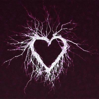 Mixed Media - Wild Heart by Anton Kalinichev