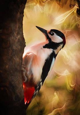 Wild Heavenly Creature Art Print by Georgiana Romanovna