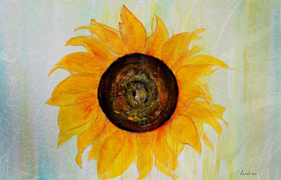 Painting - Wild Helianthus by Andres Gonzalez