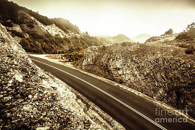 Landscapes Royalty-Free and Rights-Managed Images - Wild highland road by Jorgo Photography - Wall Art Gallery