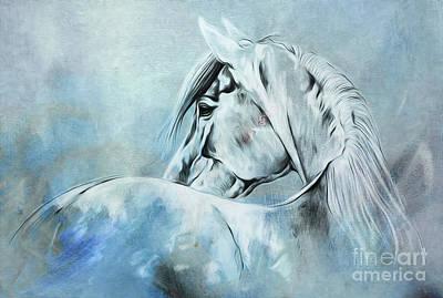 Wild Horse 01 Art Print