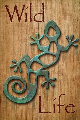 Digital Art - Wild Life Sign 3 by WB Johnston