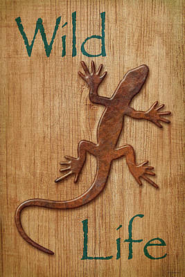 Photograph - Wild Life Sign by WB Johnston