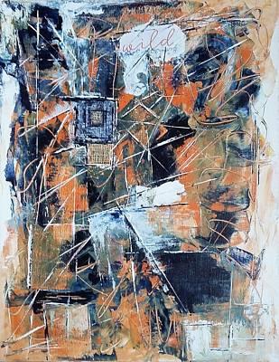 Wall Art - Painting - Wild by Linda Wimberly