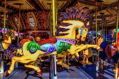 Wild Magical Horse Ride Art Print