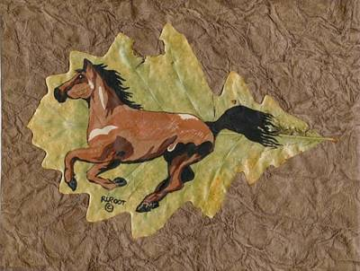 Painting - Wild Mustang #4 by Ralph Root