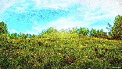 Digital Art - Wild Mustard Afternoon by Joel Bruce Wallach