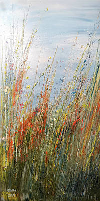 Painting - Wild N Hay by Dorothy Maier