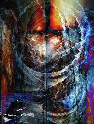 Digital Art - Wild Ocean by Linda Sannuti