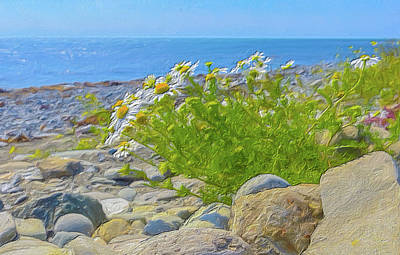 Digital Art - Wild On The Beach by Garvin Hunter
