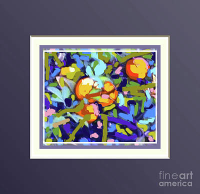 Photograph - Wild Oranges IIi by Shirley Moravec