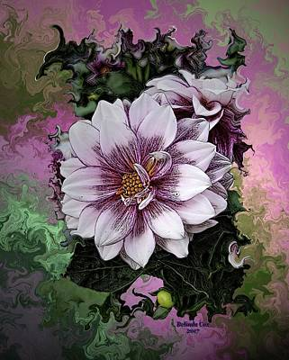 Digital Art - Wild Pink Flower by Artful Oasis