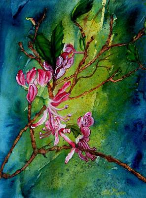 Painting - Wild Pink by Lil Taylor