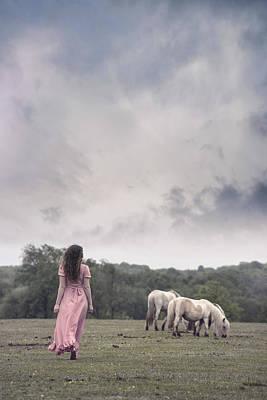 New Forest Pony Photograph - Wild Ponies by Joana Kruse
