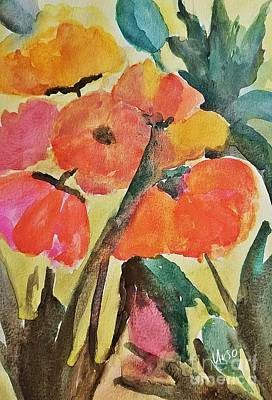 Painting - Wild Poppies by Maria Urso