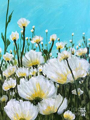 Painting - Wild Poppies  by Wonju Hulse