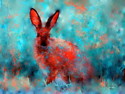 Impresionism Painting - Wild Rabbit by Rosalina Atanasova