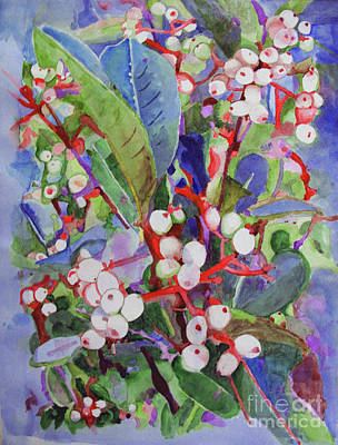 Painting - Wild Raisons by Sandy McIntire