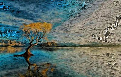 Digital Art - Wild Reflections by Mario Carini