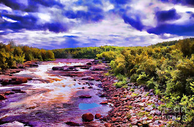Photograph - Wild River by Rick Bragan