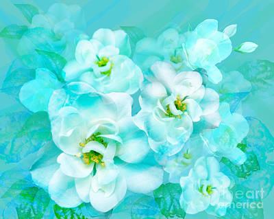 Digital Art - Wild Rose by Julia Underwood