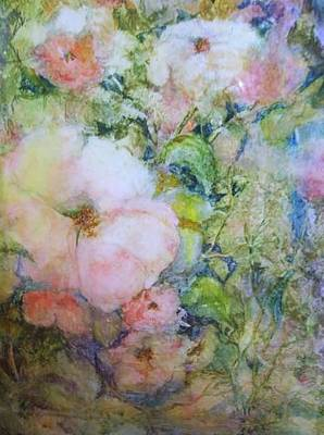 Painting - Wild Roses by Barbara Walter
