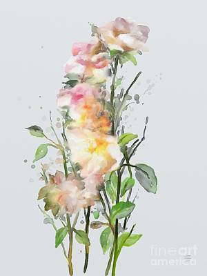 Painting - Wild Roses by Ivana Westin