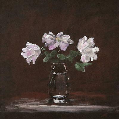 Painting - Wild Roses by Masha Batkova