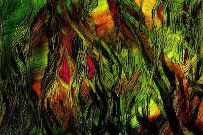 Digital Art - Wild Scape by David Lane