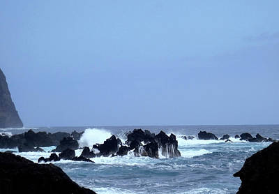Photograph - Wild Sea In Madeira by Laura Greco