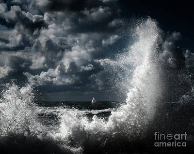 Photograph - Wild Seas by Edmund Nagele