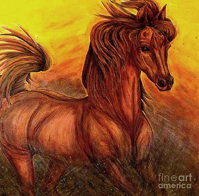 Painting - Wild Spirit by Kim Jones