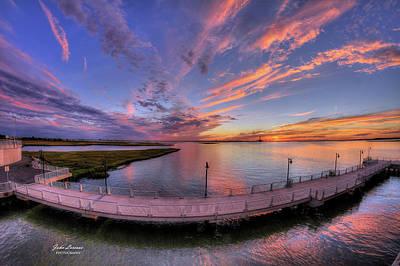 Photograph - Wild Sunset by John Loreaux
