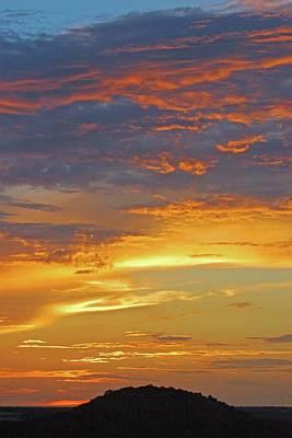 Photograph - Wild Sunset by Robert Anschutz