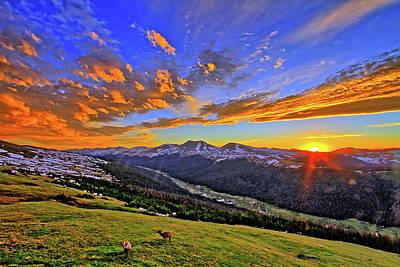 Photograph - Wild Sunset by Scott Mahon