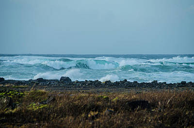 Photograph - Wild Surf Along The Reykjanes Peninsula by Deborah Smolinske