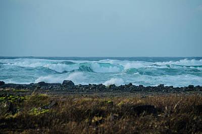 Photograph - Wild Surf Along The Reykjanes Peninsula by Deborah Smolinske