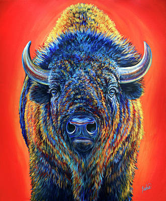 Painting - Wild by Teshia Art