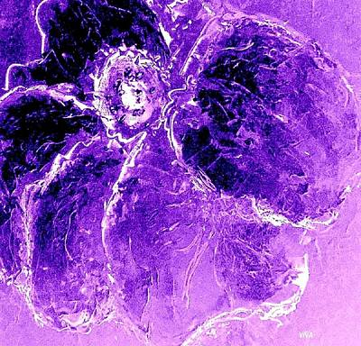 Painting - Wild Thing Purple by VIVA Anderson