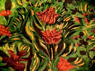 Painting - Wild Tulips by Nikki Dalton