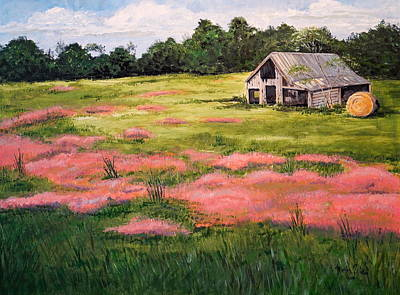 Painting - Wild Tumble Grass by Marilyn Zalatan