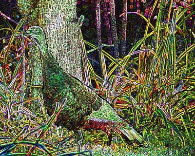 Sports Paintings - Wild Turkey.jpg by Cliff Wilson