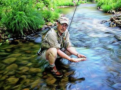 Photograph - Wild Watauga Brook Trout by Joe Duket