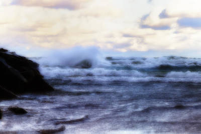 Photograph - Wild Waters Of Lake Michigan by Christopher Purcell