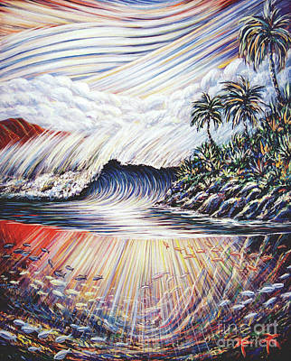 Painting - Wild Wave by Dennis McGeary