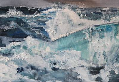 Painting - Wild Waves by Christel Roelandt